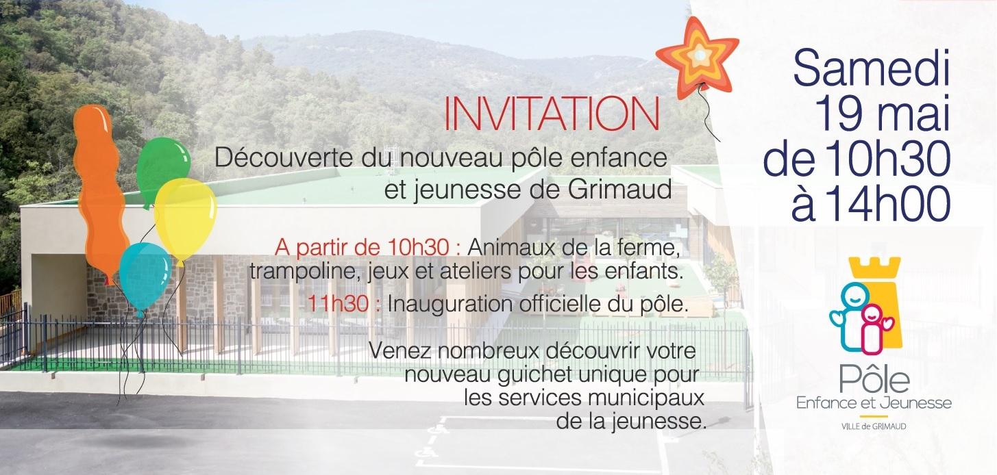 19 Mai 2018 Inauguration Du Pole Enfance Jeunesse